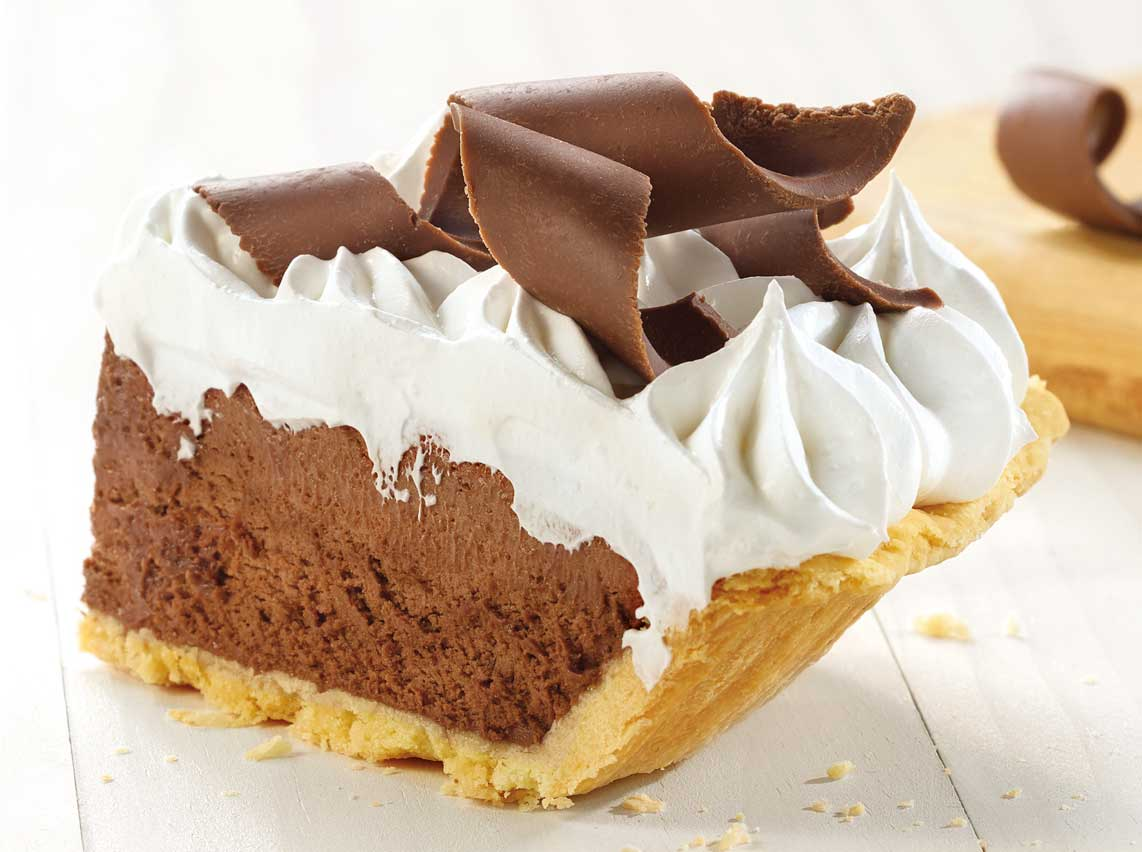 French Silk Chocolate Pie Recipe — Dishmaps